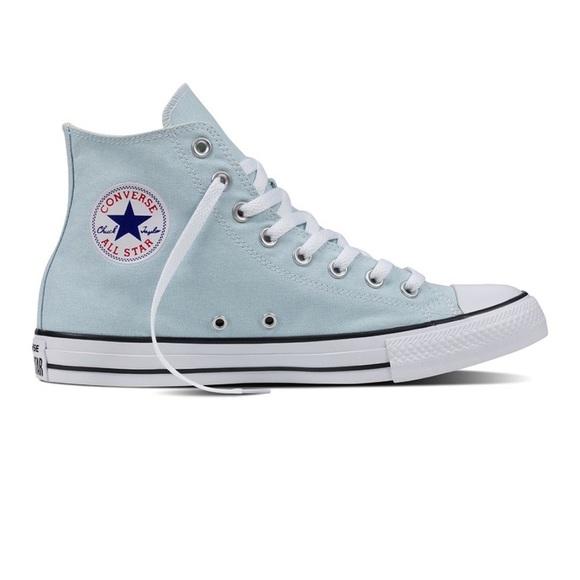 Converse Shoes   Light Blue   Poshmark